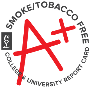 Smoke and Tobacco Free College and University Report Card, A plus