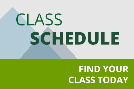 Class schedule - find your class today