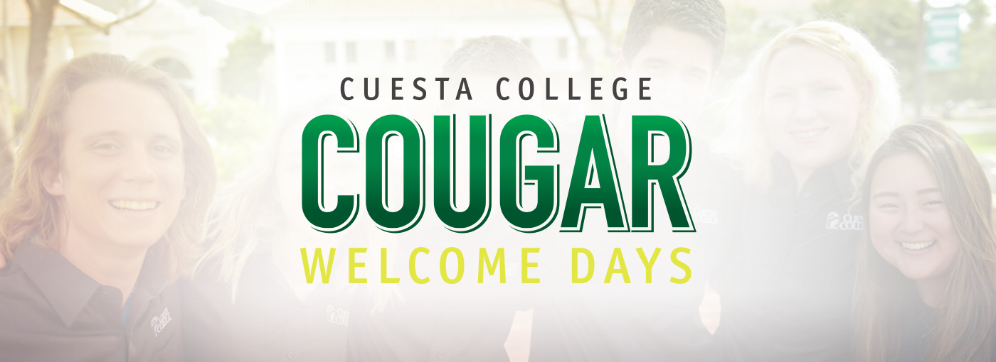 Cougar Welcome Days