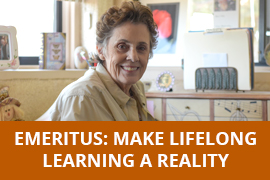 Emeritus: Make lifelong learning a reality
