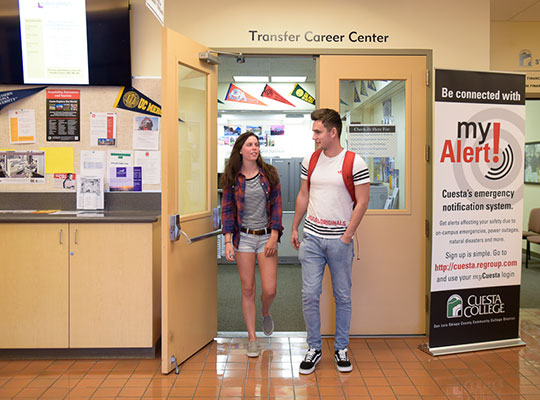 Transfer Center entrance