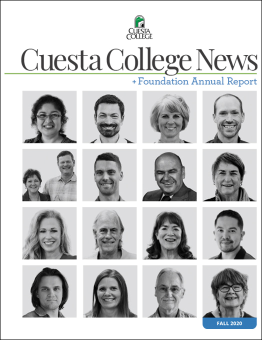 Fall 2020 Cuesta College News and Foundation Annual Report