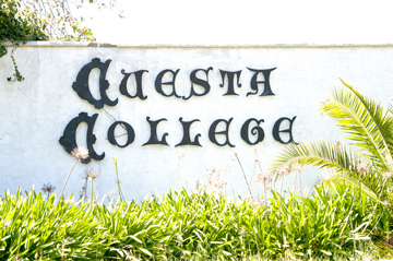SLO Campus Sign