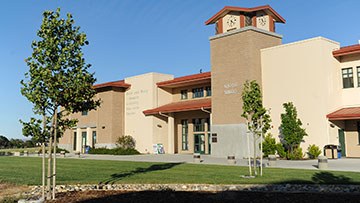 North County campus Schwartz Learning Resource building
