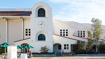 San Luis Obispo campus clocktower
