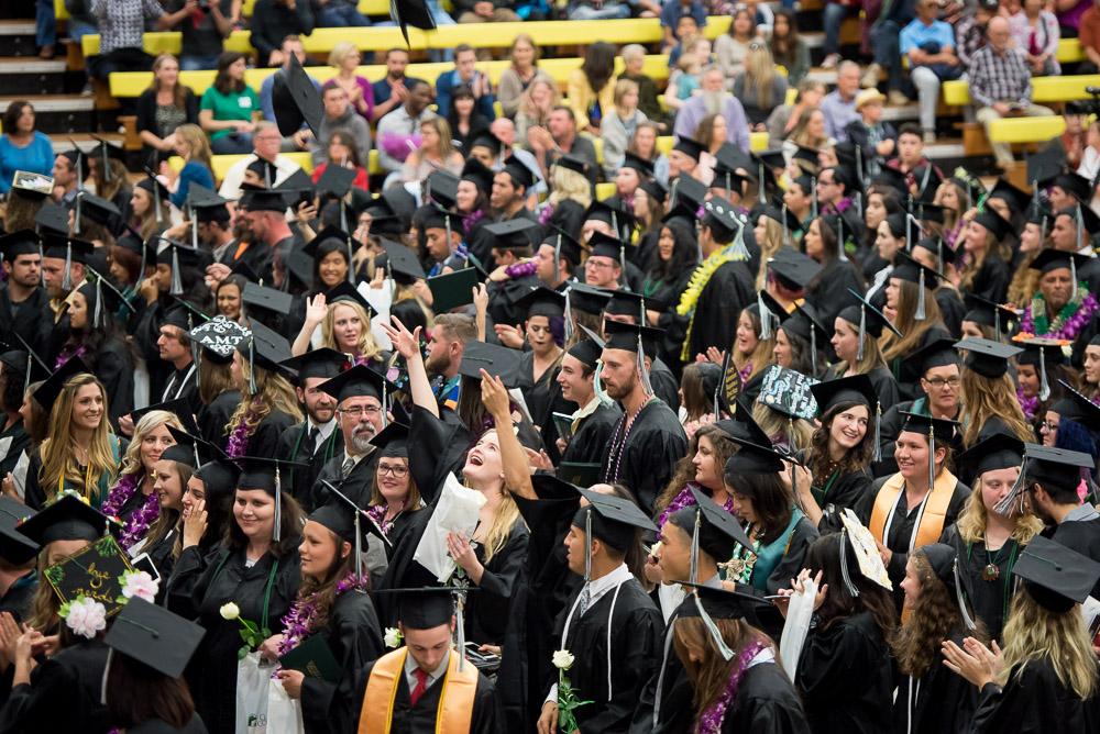Cuesta College graduating class