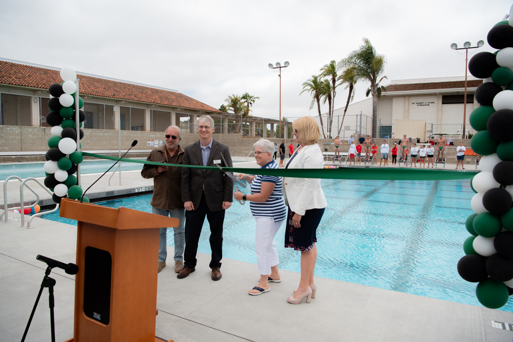Aquatics Center Ribbon-Cutting