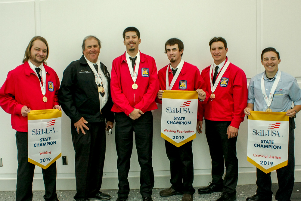 Cuesta Students win gold at SkillsUSA California.
