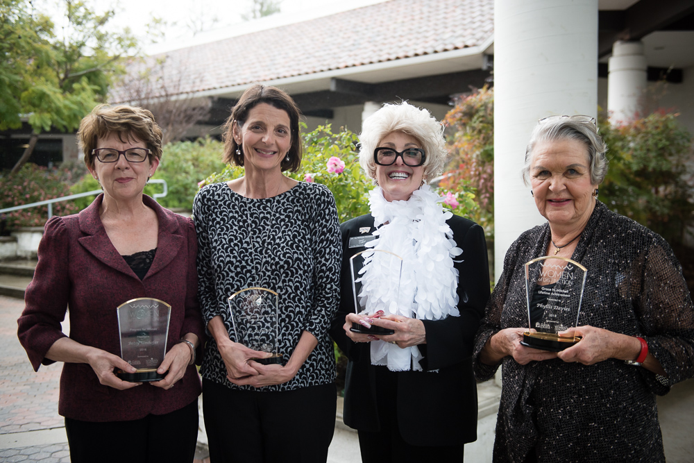2018 Women of Distinction Awards recipients