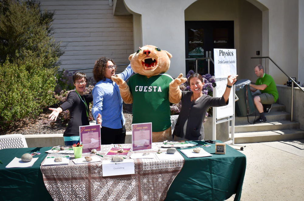 Cuesta Staff at Tabling Event