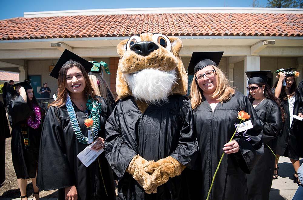 Graduating students at 2019 ceremony