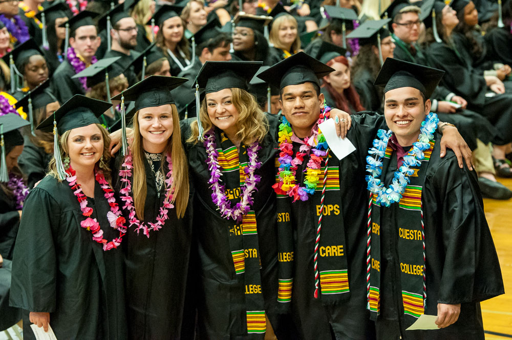 Cuesta's 53rd Commencement Celebrates Degree Earners