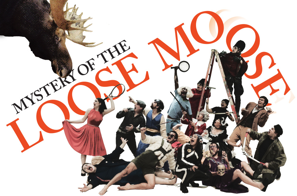 Cast of the Mystery of the Loose Moose
