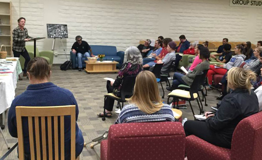 Poetry Reading Features English Instructors