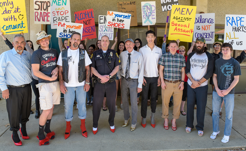 2nd Annual Walk a Mile in Her Shoes Event