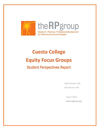 Focus Group Report Cover