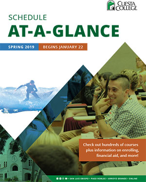 Schedule At-a-Glance Spring 2019e