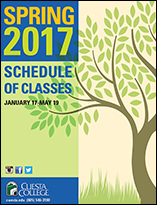 Spring 2017 Schedule of Classes