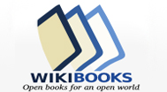 Logo for Wikibooks