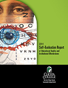 2014 Self-evaluation report cover