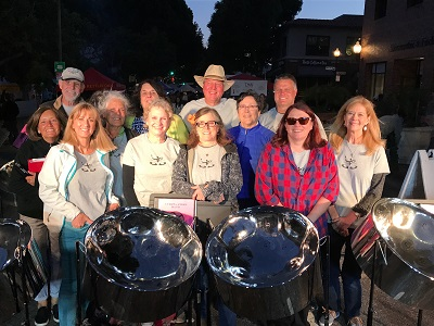Intermediate Steel Band at Farmers Market 2017