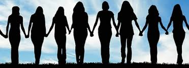 Women Standing Together