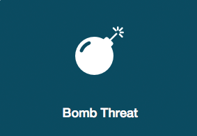 What to do if there's a bomb threat