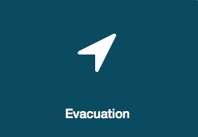 What to do if there's an an evacuation