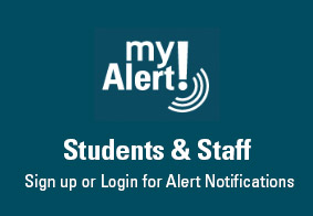 myAlert Sign up for students and staff