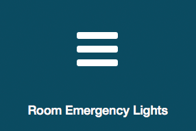Emergency room lights information