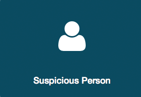 What to do if there's a suspicious person