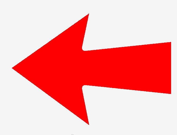 Red arrow point to the left