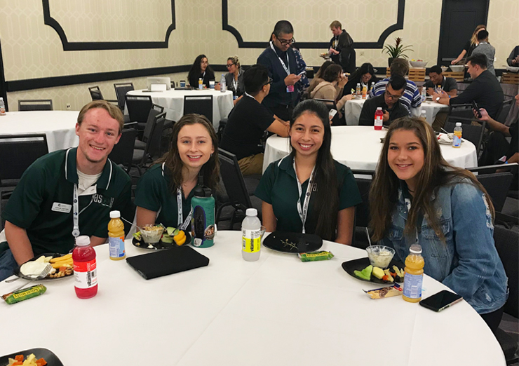 ASCC students at leadership conference