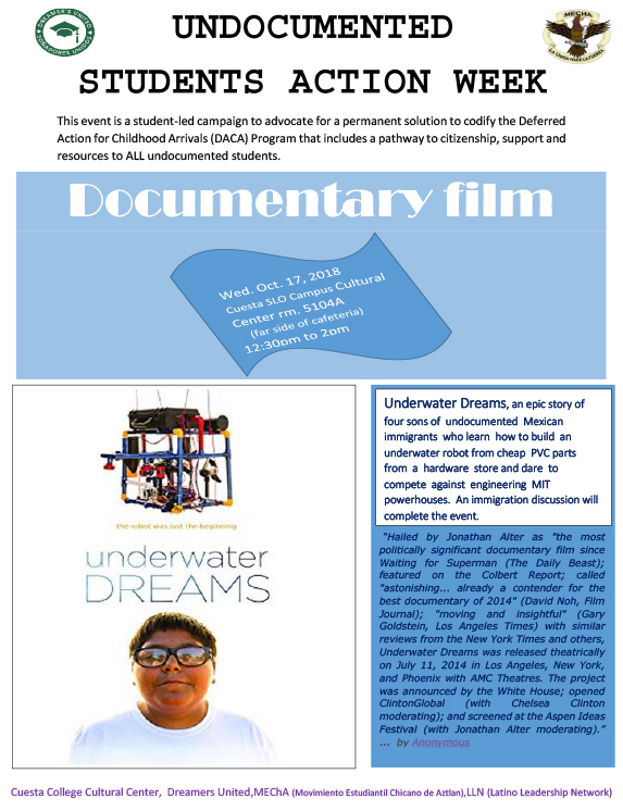 underwater dreams documentary screening