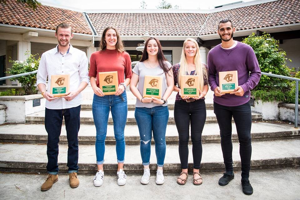 2019 Cuesta College Athletes of the Year