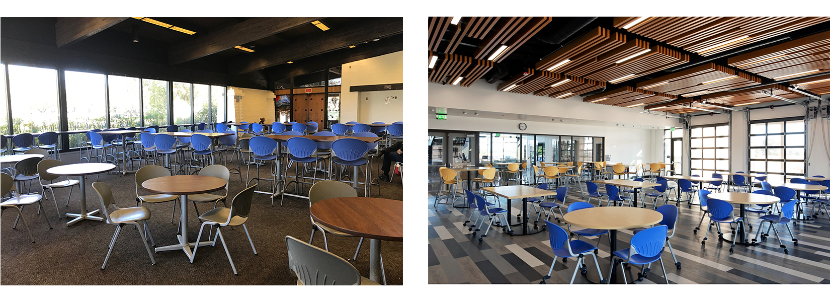 San Luis Obispo and North County campus cafeterias