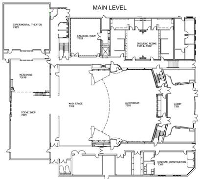 Main level drawing