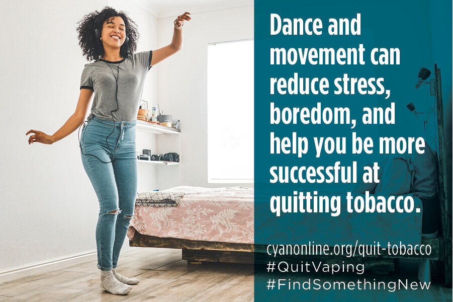 Quitting smoking can help lower stress and anxiety