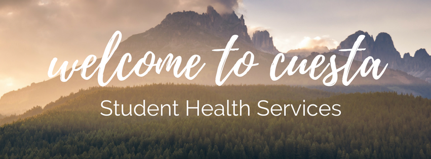 Welcome to Cuesta Student Health Services!